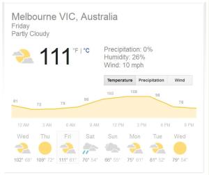 Aussie Heatwave